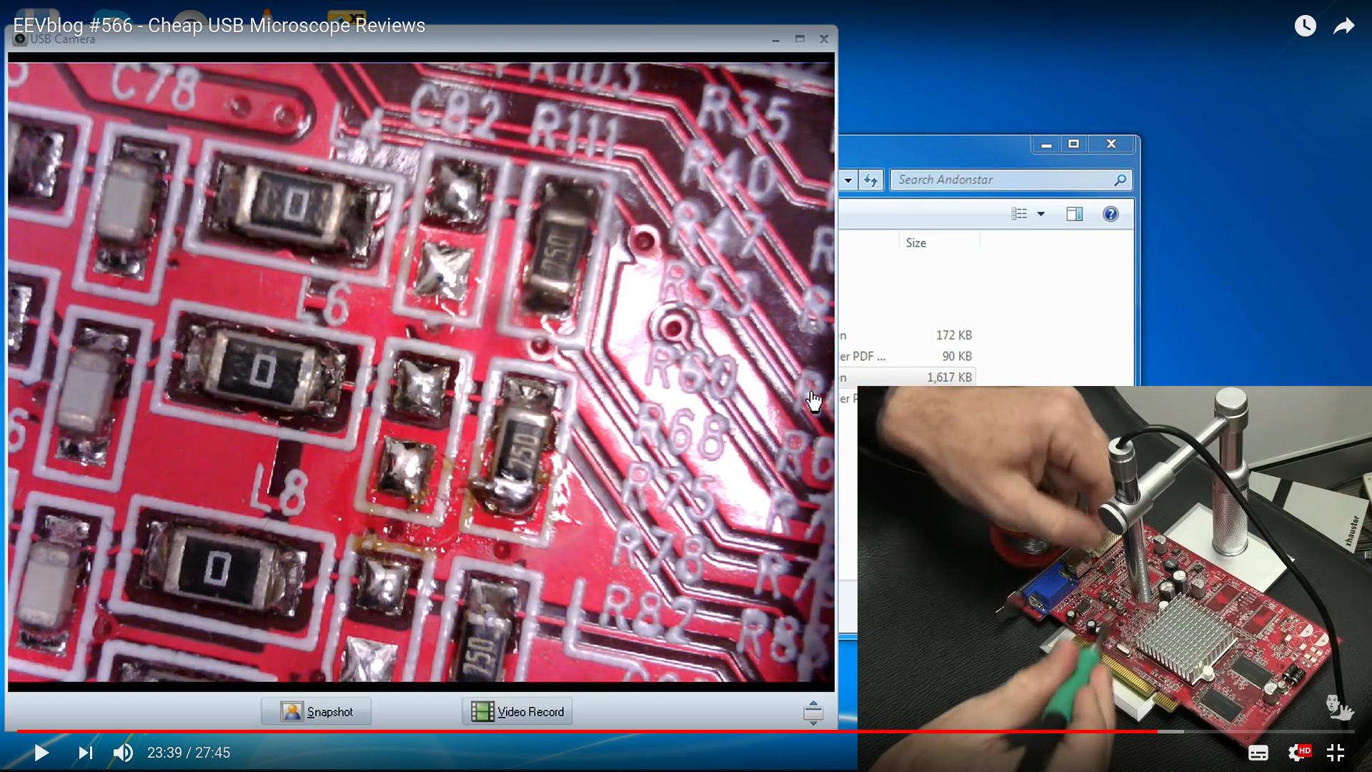 Crowdfunding: usb mikroskop hackerspace coredump forum